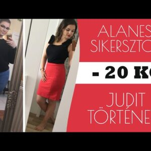 JUDIT 20 KILÓ FOGYÁSÁNAK TÖRTÉNETE